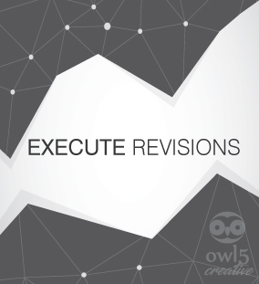 Owl5 Creative Process - Step 3 Execute Revisions